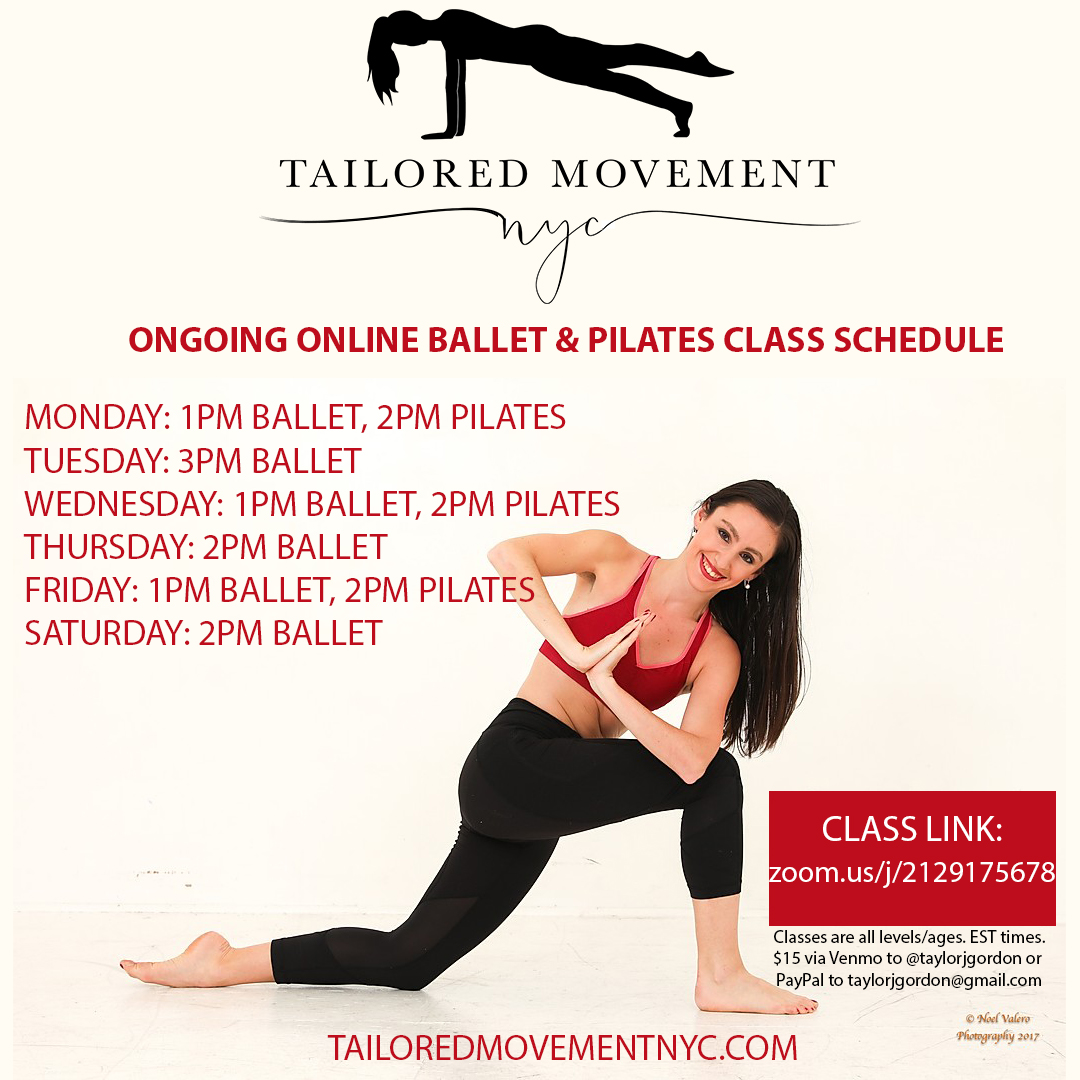 Online Pilates with Tailored Movement NYC