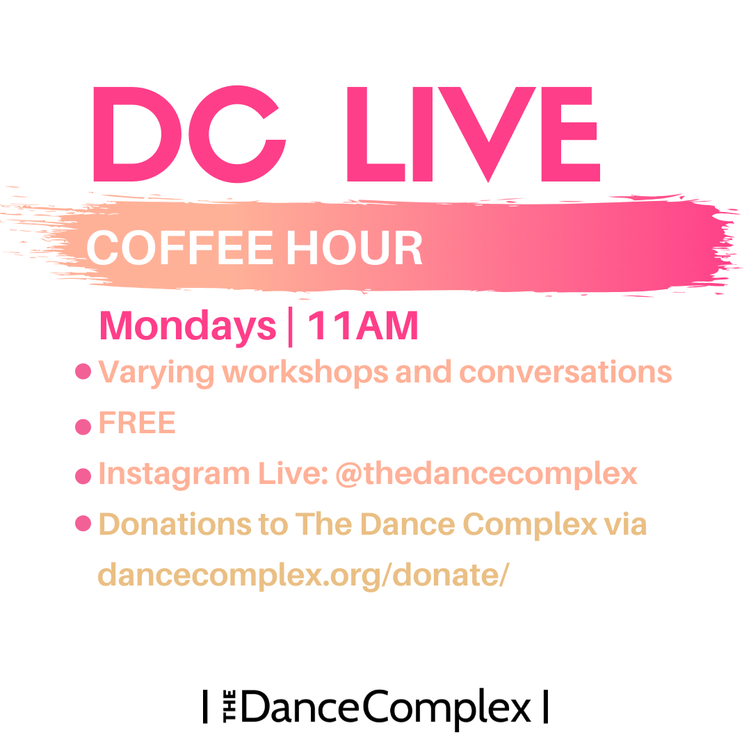 Coffee Hour with The Dance Complex