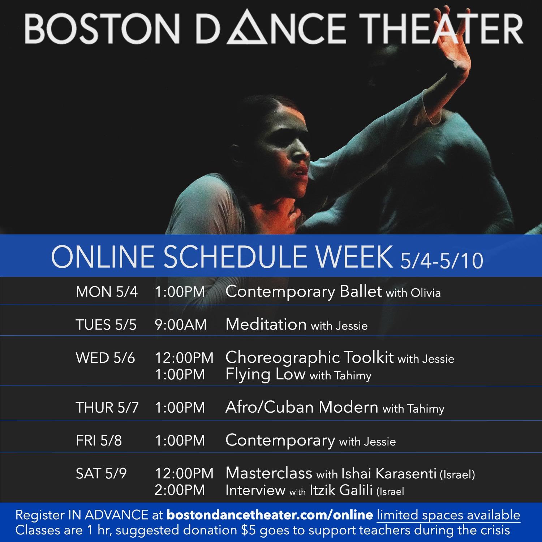 Meditation with Jessie, Boston Dance Theater