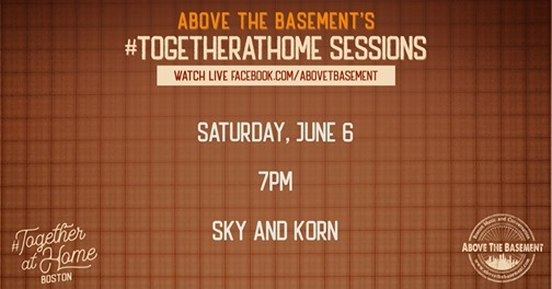 Sky & Korn at Above The Basement - Boston Music and Conversation