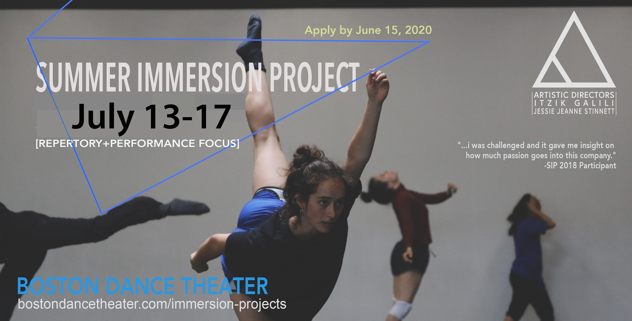 Boston Dance Theater Summer Immersion Project